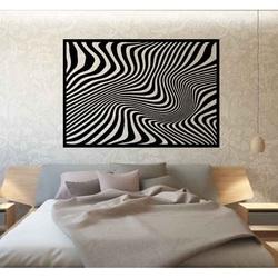 Sentop - Dekoracyjny obraz na ścianie zebry