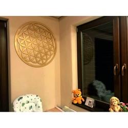 Drewniana mandala jako dekoracja ścienna ze sklejki MANDALA