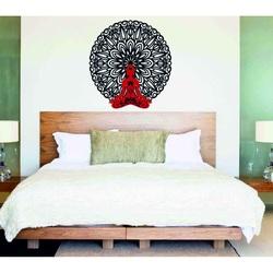 Sentop - 3D Obrazek na ścianie Budda w mandali 50, 70, 90 cm