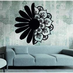 Sentop - Drewniany obraz na ścianie kwiat MARGARETU