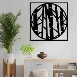 Stylesa - Nowoczesny obraz ścienny wykonany ze sklejki LLUTF PR0380-A