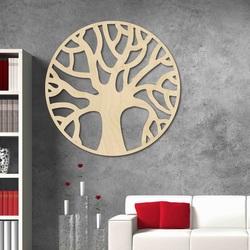 Stylesa - Modernes Holzgemälde an der Wand aus POCCITT PR0384 Sperrholz