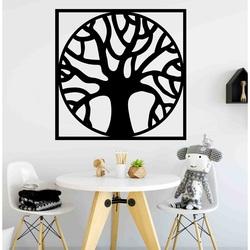 Stylesa - Nowoczesny drewniany obraz na ścianie ze sklejki POCCITT PR0384-A