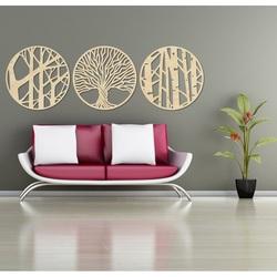 Stylesa - 3 częściowy obraz na ścianie YOSED