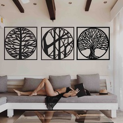 Stylesa - 3 częściowy obraz na ścianie DESIRROO