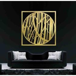 Sentop - Kép egy fából készült rétegelt fal falán HOGGFOG négyzet