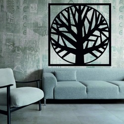 Sentop - Obraz na ścianie drzewo drewniana dekoracja OMARF
