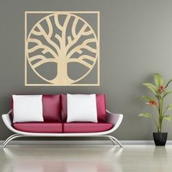 Sentop - Nowoczesny obraz na ścianie ze sklejki - dekoracja drewniana MOARKO