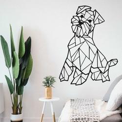 Styles Dřevěný obraz na stěnu pes Hafinka PR0228 černá