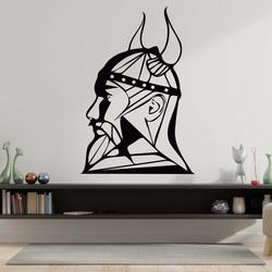 Nowoczesny obraz na ścianę - drewniana dekoracja kwadrat FORNET | SENTOP