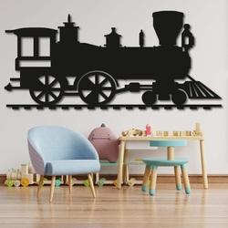 Drewniany obraz na ścianie - POCIĄG SANTE| SENTOP