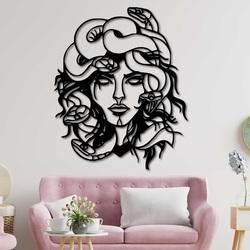 Magiczny obraz na ścianie kobieta - MEDUSA GORGONA SENTOP