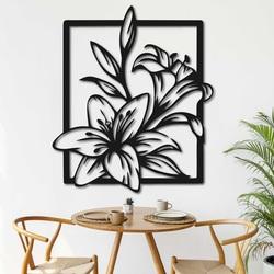 Rzeźbiony obraz na ścianie piękna lilia - INNOCENCE | SENTOP