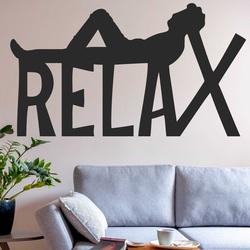 Drewniany obraz na ścianie - RELAX | SENTOP