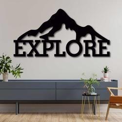 Vyrezávaný obraz z dreva - EXPLORE   SENTOP