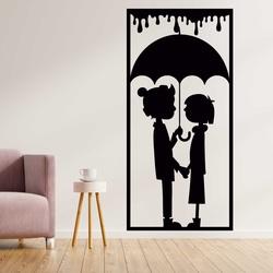 Romantyczny obraz na ścianie kochającej się pary - MIŁOŚĆ | SENTOP