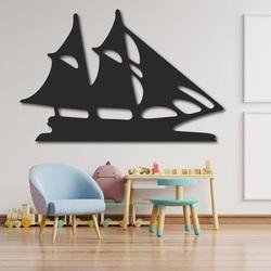 Rzeźbiony obraz na ścianie drewnianej żaglówki - MARINER | SENTOP