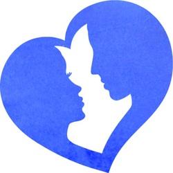 Romantyczny obrazek na ścianie pary w sercu - LOVE YOU | SENTOP