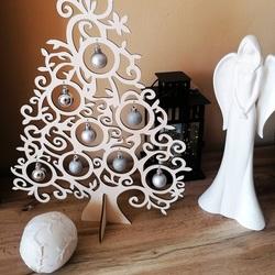 Drewniana choinka naturalne drewno - 40 cm, 50 cm i 70 cm | SENTOP