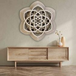 Obraz 3D Sentop Mandala pokój naturalny do 90 x 100 cm