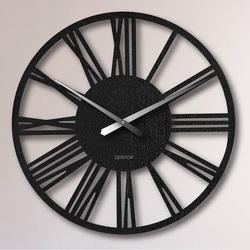 Duży zegar ścienny z cyframi rzymskimi - Sentop | 80-100 cm