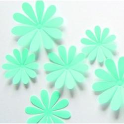 3D kolor dekoracji - Turquoise - 1 opakowanie zawiera 12 sztuk