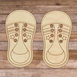 Montessori drewniany but dziecięcy - Zwiąż mnie! 1 szt.   SENTOP