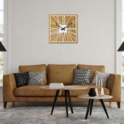 Drewniany zegar ścienny - Sentop | HDFK031 | dąb