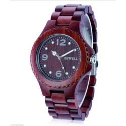 Nowoczesne drewno zegarek Graciela