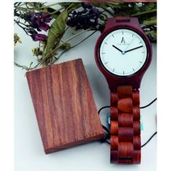 Kreatywny Drewniany Zegarek na rękę - ALK VISION
