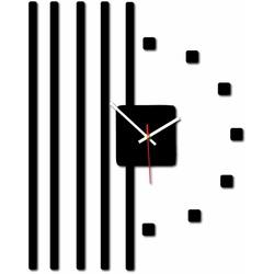 Nowoczesny zegar ścienny - JERRY