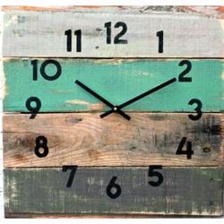 Drevené hodiny Dedko.