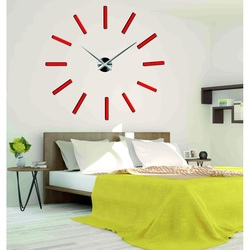 Kolorowy zegar ścienny 3D-CHOCCO