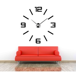 Duży kolorowy zegar 3D - Kelsey