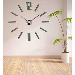 Nowoczesny zegar ścienny 3D do pokoju dziennego - ZAHIR