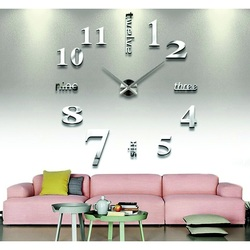 3D klejowe zegary ścienne - Wielkie siódemki