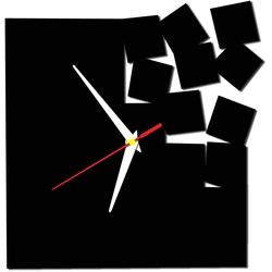 Nowoczesny zegar ścienny - Kwadrat