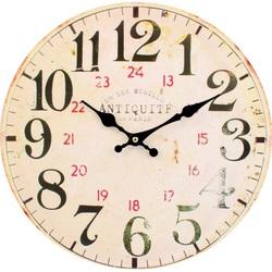 Zegar ścienny MDF Fi 30 cm SENTOP C21601