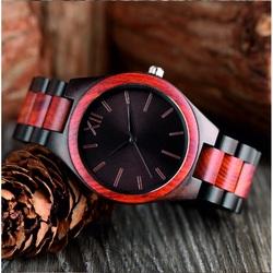 Drewniany zegarek na rękę- Roman Dwunastka-Yisuya