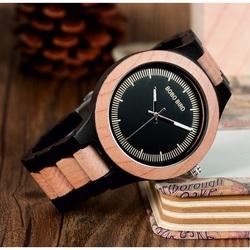 Stylowy zegarek na rękę z drewna - ASTOR