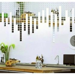 Naklejka na lustro na ścianę - fantasy, 1 zestaw zawiera 100 sztuk