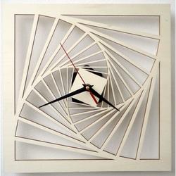 Drewniany zegar ścienny - Cargo