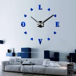 Nowoczesny plastikowy zegar ścienny - SOPHIA