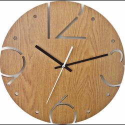 Zegar ścienny wykonany z HDF - BARDOT