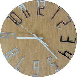 Nowoczesny zegar na ścianie z liczbami - FAVI