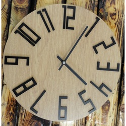 Zegar ścienny z HDF - THOMAS
