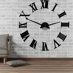 Ścienny zegar ścienny z rzymskiej pleksi 2D