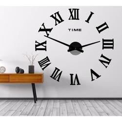 Zegar ścienny MAXI PLEXI - Roman Numbers 2D
