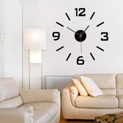 Przyklejanie zegara ściennego  XS SANDERO