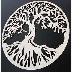 Drewniana ozdoba drzewa życia POHODA